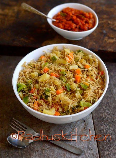 Millet Vegetable Sevai Recipe-Samai Vegetable Sevai Recipe