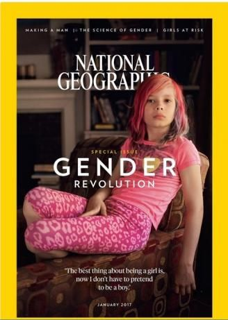 "Transgender, cisgender, gender nonconforming, genderqueer, agender, or whatever name you want to call it, this ""fluidity"" seems to be the trending topic covered in the media these days – and although it may appear an unlikely outlet for such a topic, National Geographic is the latest to jump on the bandwagon by featuring a nine year old transgender girl by the name of Avery Jackson on the cover of its upcoming issue. If you are unaware of the aforementioned names, no worries – the upcoming…"