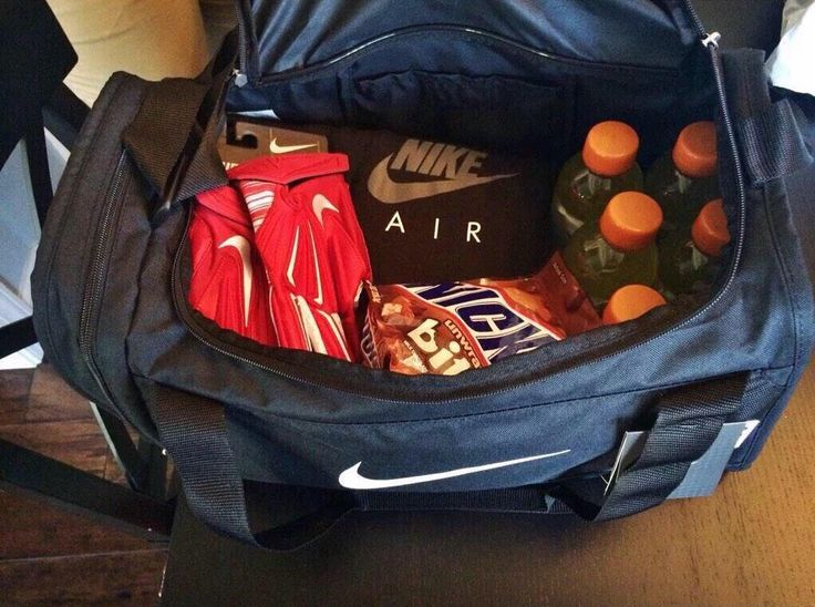 football boyfriend care package