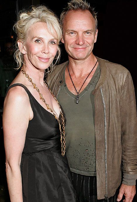 2007 - with his wife Trudy Styler