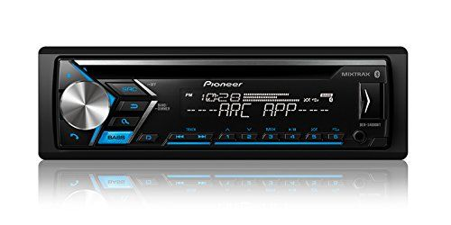 Pioneer DEH-S4000BT Single Din Bluetooth In-Dash CD/Am/FM Car Stereo Receiver with Dual Phone Connection, Pandora Control #Pioneer #Single #Bluetooth #Dash #CD/Am/FM #Stereo #Receiver #with #Dual #Phone #Connection, #Pandora #Control