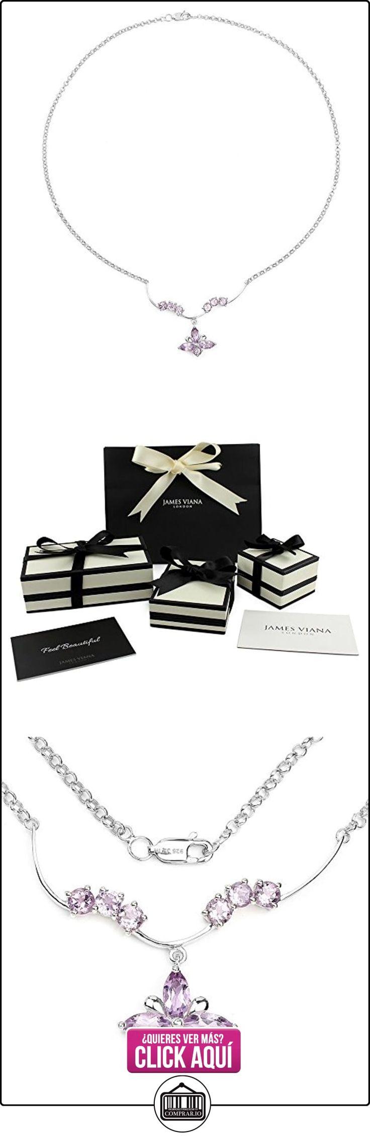 Collar de corte marquesa de plata de ley amatista en 3,55 quilates para la Mujer  ✿ Joyas para niñas - Regalos ✿ ▬► Ver oferta: http://comprar.io/goto/B01MY6RS1T