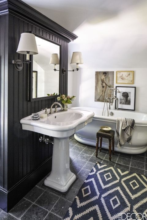 Bathroom Ideas Elle Decor 839 best amazing bathrooms images on pinterest | bathroom ideas
