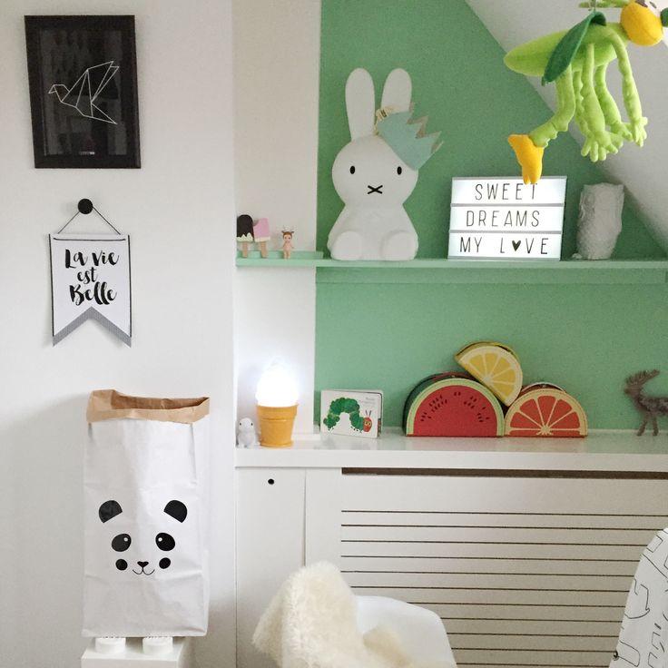 Opbergen kinderkamer lego opbergers, panda papieren zak fruitkoffers (1)