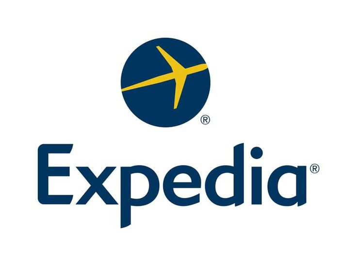 Il logo di Expedia una delle più importanti agenzie di viaggio online...