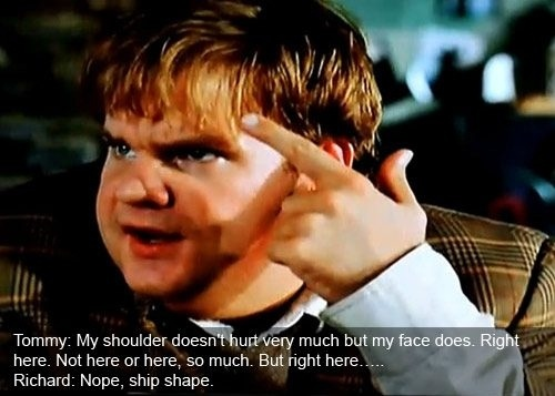 Chris Farley Tommy Boy Quotes: Pinterest