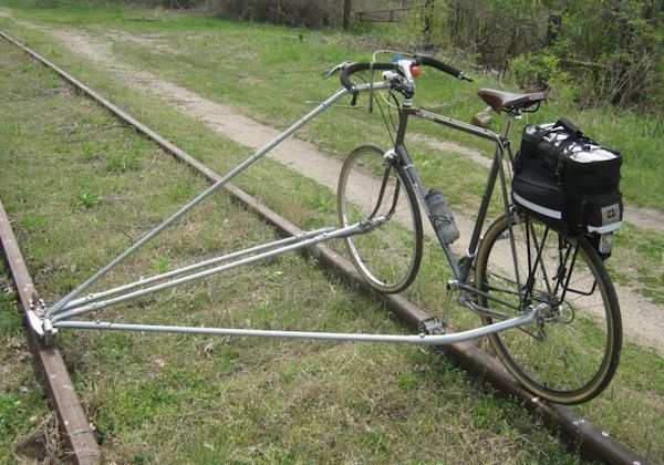 Too cool!: Bicycle-Built-For-Two, Railroad Bike, Bicyclehigh Wheels, Bike Conver, Training Track, Tandem Bicycles, Railings Bike, Awesome Cars,  Tandem Bicycle