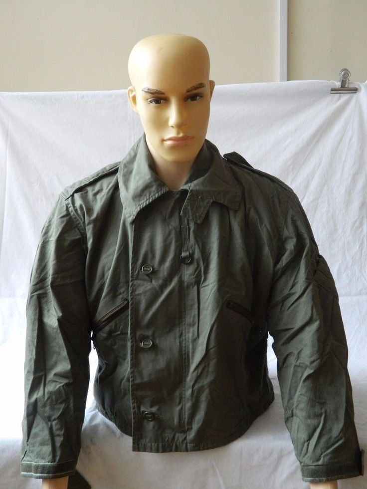 Ex RAF Aircrew MK3 Cold Weather Jacket Size 4 With Badge Patches Removed [3R8B]