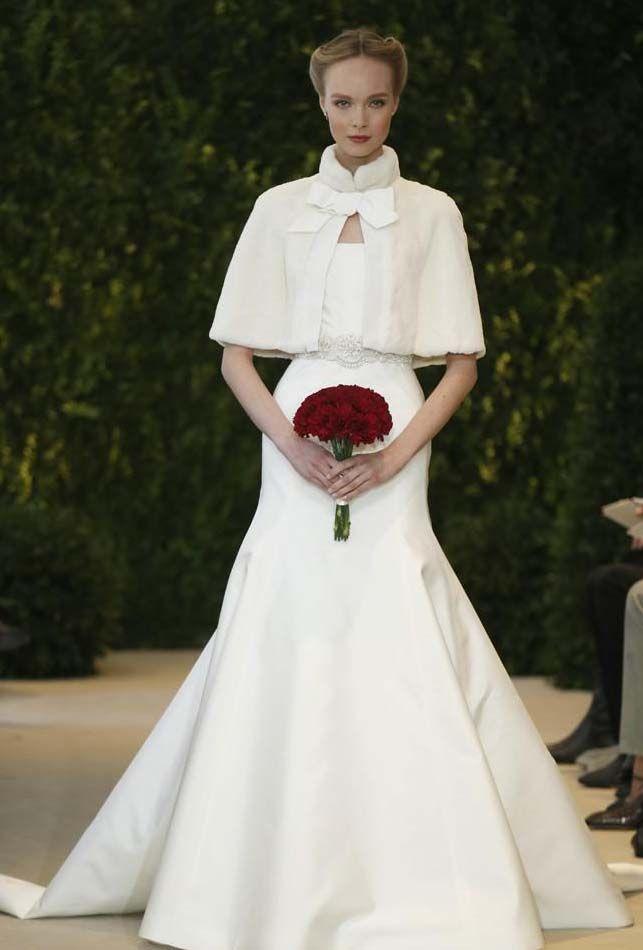 abrigo para novias de invierno | costura en 2019 | wedding dresses
