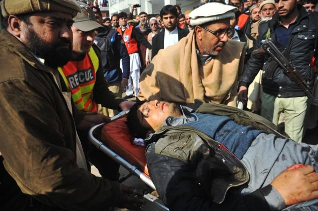 Jan. 20, 2016 - NYDailyNews.com - At least 20 dead as gunmen storm Pakistan university