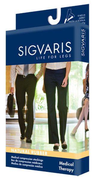 SIGVARIS 504T Natural Rubber 40-50 mmHg Open Toe Unisex Thigh Hi w/Grip Top | eBay