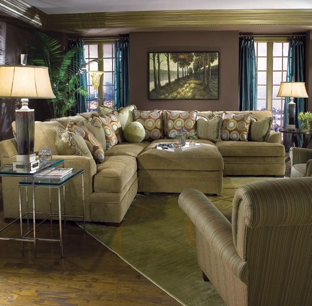Huntington House 7100 Pit Group sectional  furniture  upholstery  livingroom. 50 best Sectionals images on Pinterest   Transitional style