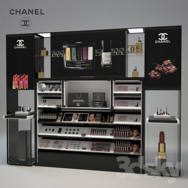 Chanel Cosmetics Display More