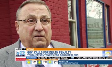 Paul LePage Urges Maine Residents To Shoot Drug Dealers
