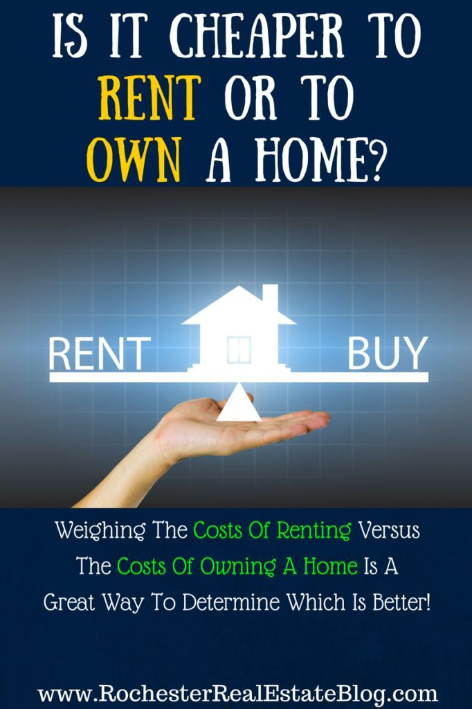 To Buy Or Rent A Home Weighing Which Is Better