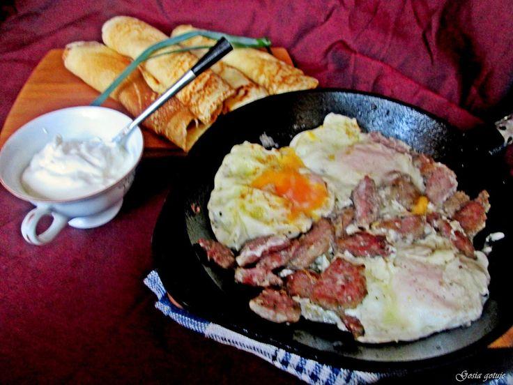 Gosia gotuje: Bliny drożdżowe po Wileńsku