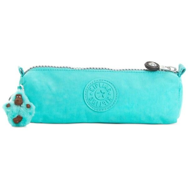 Kipling Fabian Pencil Case ($24) ❤ liked on Polyvore featuring home, home decor, office accessories, black, kipling, black pencil pouch, black pencil case, kipling pencil case and colored pencil case