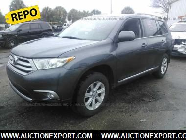2013 TOYOTA HIGHLANDER BASE #auctionexport #dealers #usedcar #export #import #usa #canada