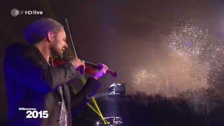 SILVESTER 2014 2015 BRANDENBURGER TOR BERLIN  David Garrett & Feuerwerk