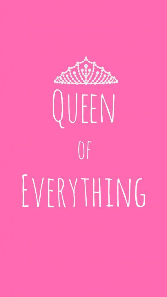 Preppy Original Queen Of Everything Iphone Wallpaper Quote Click Here To Download Preppy Original Preppy Wallpaper Cute Wallpapers Quotes Queens Wallpaper