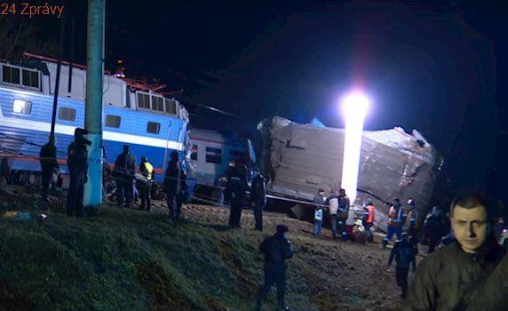 V Moskvě se srazily vlaky, bylo zraněno 50 lidí