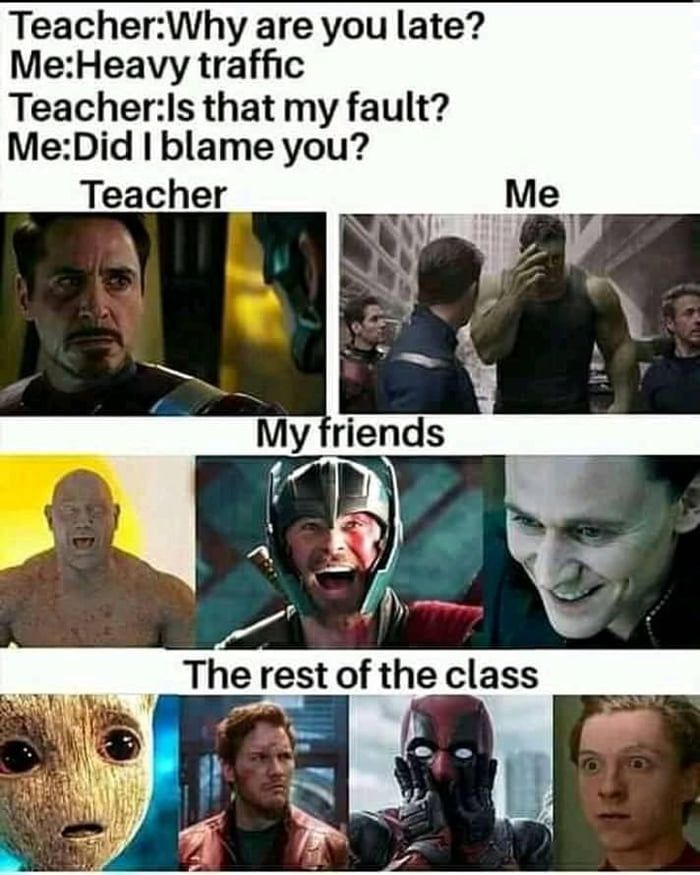 Watch Your Mouth Kid Crazy Jokes Funny Marvel Memes Very Funny Memes