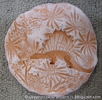 Fossil Clay project - use baker's clay & plastic dinos and trees to make imprints.