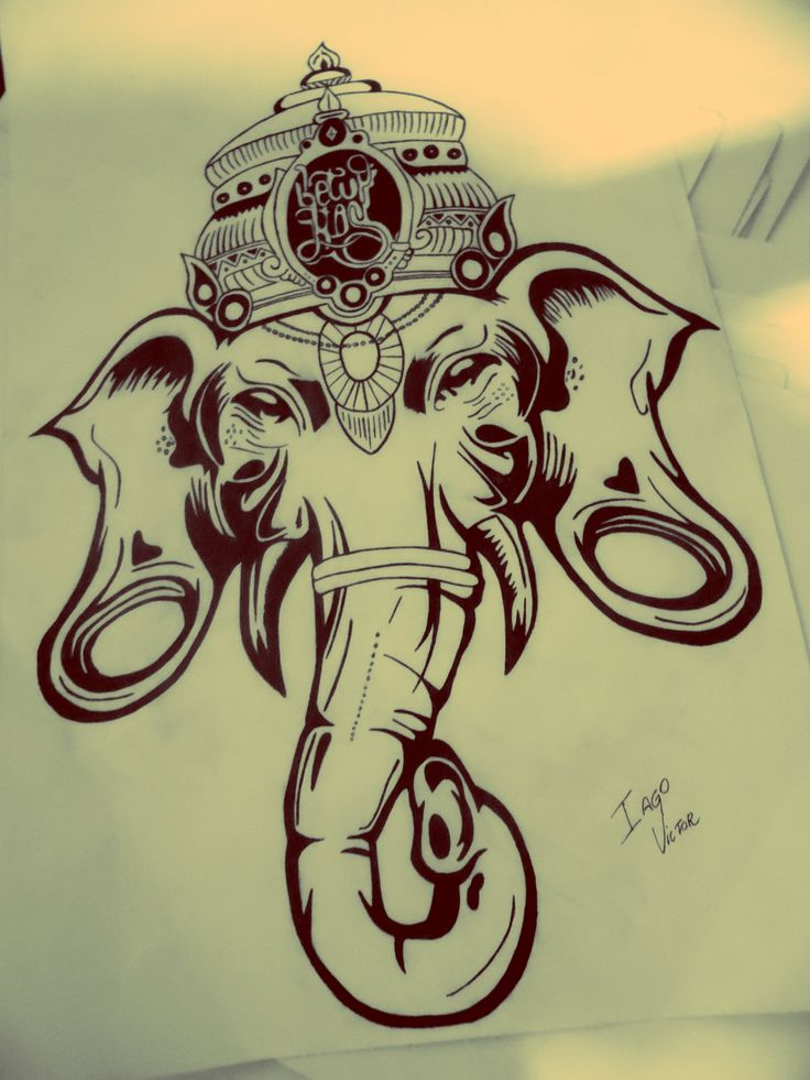 Ganesha drawing                                                       …