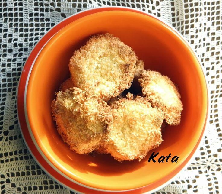 KataKonyha: Gyors kókuszos keksz - szénhidrátszegény