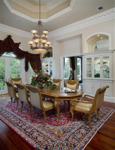 _ Luxury House Interiors In European And Traditional Mansion And Castle  Styles
