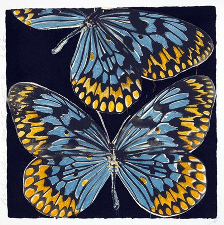 Butterflies by Donald Sultan