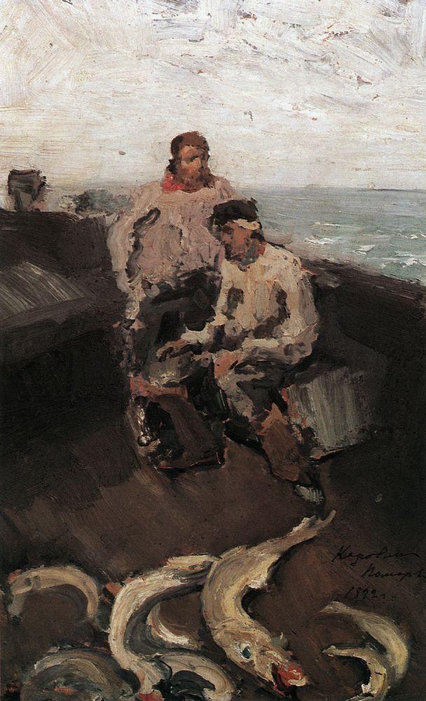 Konstantin Korovin, The Pomors, 1894