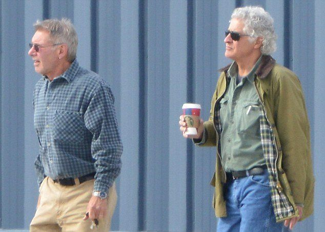 Harrison Ford with brother Terence Ford