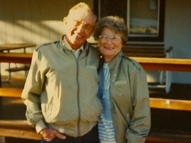 Gordan and Norma Yeager, a couple in Iowa, were married for 72 years before dying 1 hour apart, holding hands--true love
