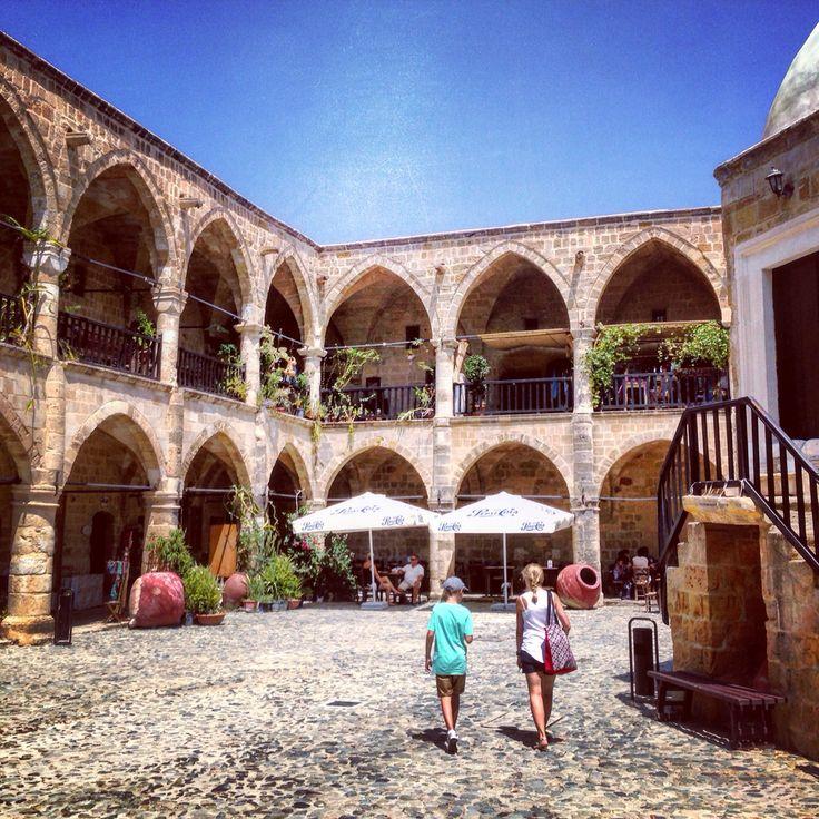 Buyuk Han, north Nicosia, North Cyprus #buyukhan #nicosia #cyprus #northcyprus