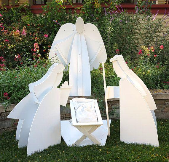 Living Nativity Ideas: Best 25+ Outdoor Nativity Scene Ideas On Pinterest