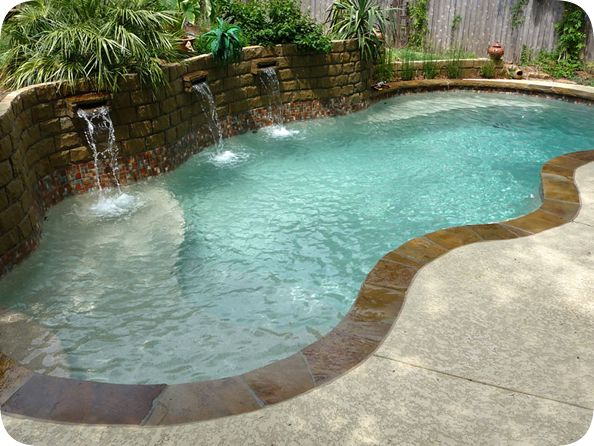 viking fiberglass pool images | Free Form VIKING Fiberglass pools