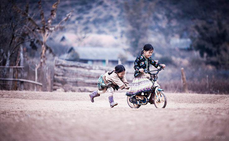 Et les moments magiques de l'enfance, quand captés par une caméra de photographes de talent, peuvent faire des photos vraiment magnifiques.