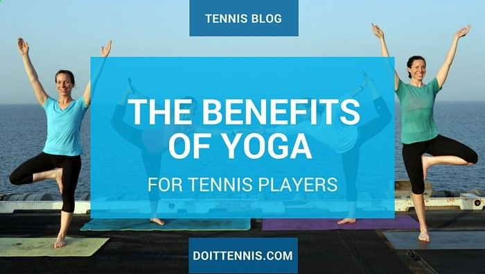 Many professional athletes have used yoga to increase their shelf life in their respective sport. Tennis Pro Andy Murray and Maria Sharapova have each been seen sweating it out in a hot yoga class.