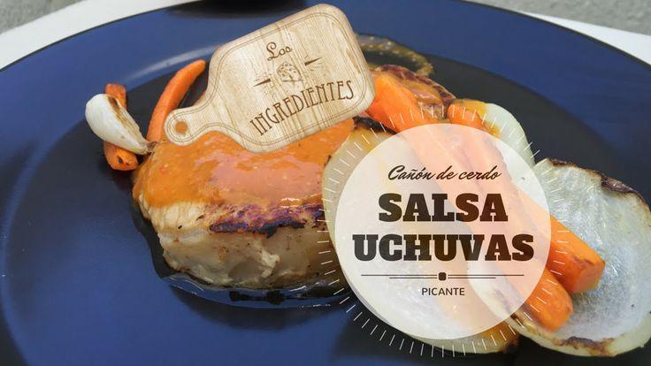 Cañon de cerdo en salsa de uchuvas _ Los Ingredientes. Te invitamos a suscribirte en nuestro canal de Youtube: Los Ingredientes, haciendo clic en el siguiente enlace: www.youtube.com/... Visita la Receta completa en Youtube