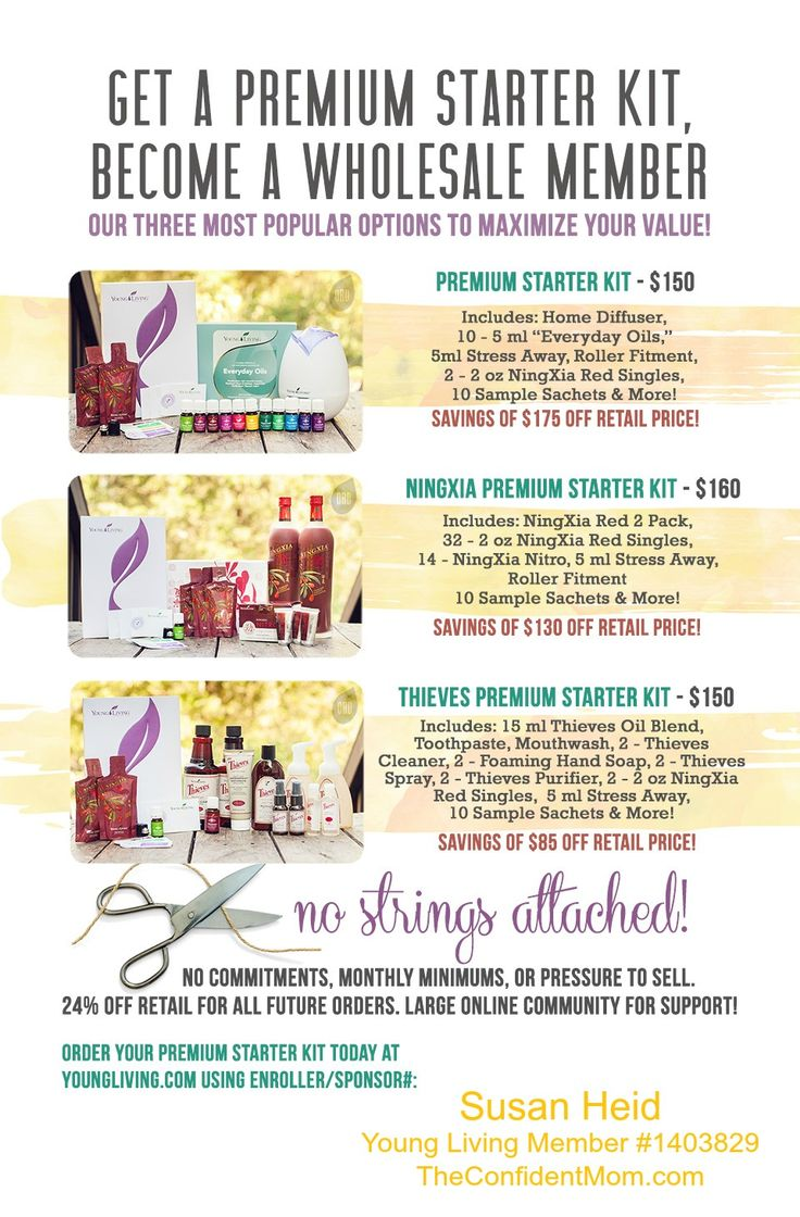 how to keep young living wholesale member