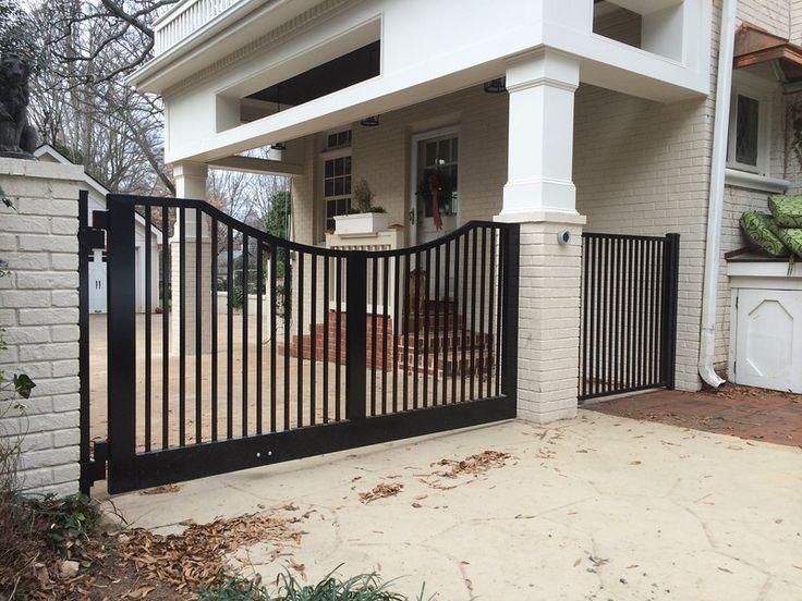 Aluminum Driveway Gates W Operators Champion Fence