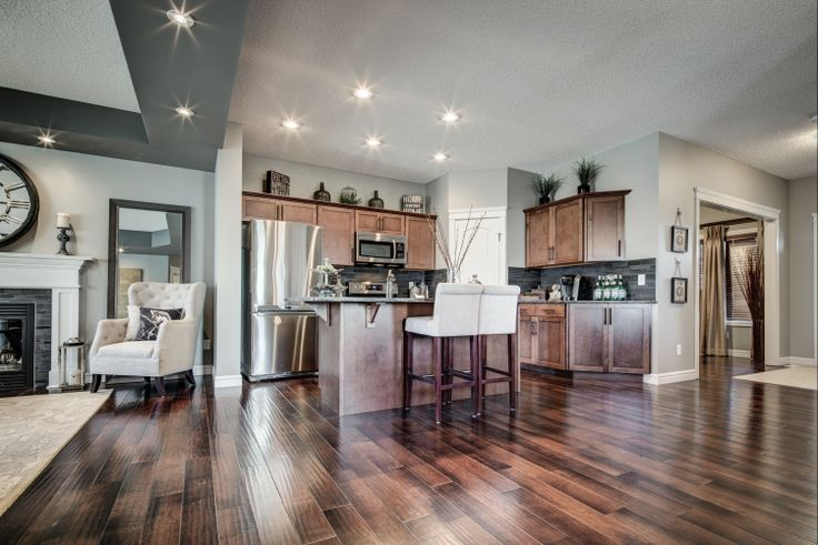 Great colours and finishes on the main floor; and the lifestyle room is convenient but still private!