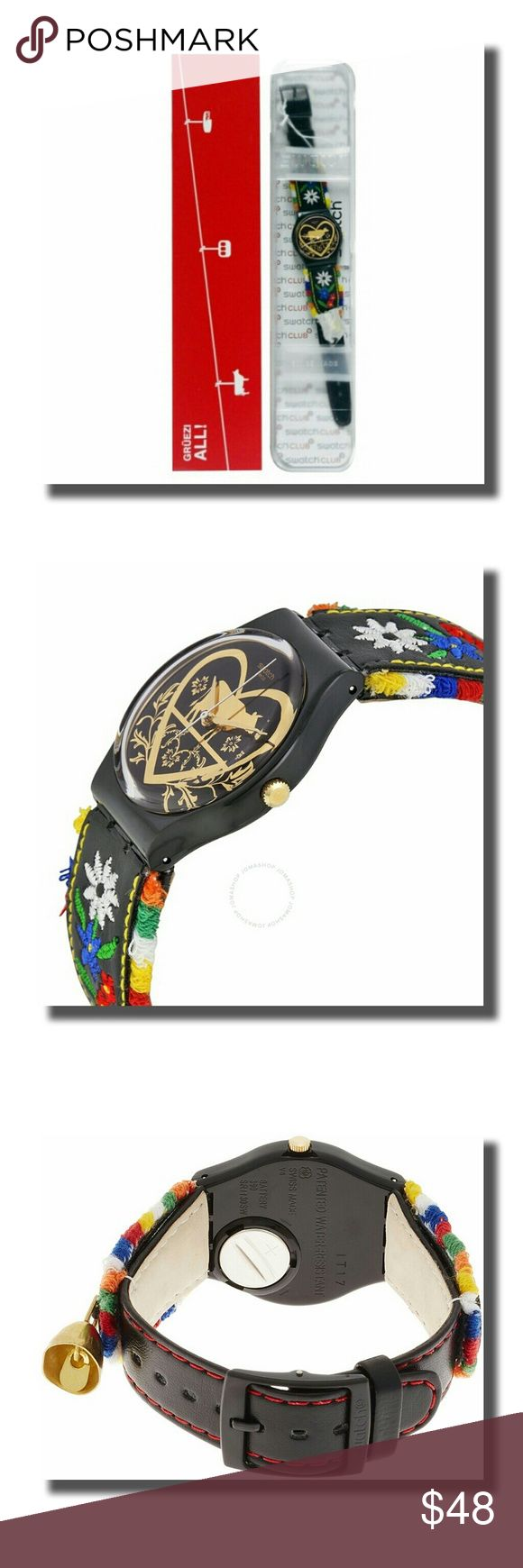 "Swatch Watch ""Die Glocke"" Tried on...never worn...as new as you can get. Swatch Accessories"