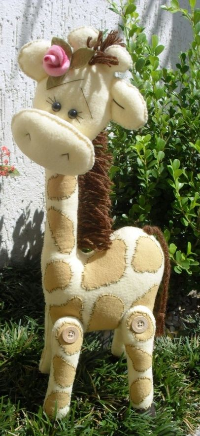 Felting / Happy Giraffe