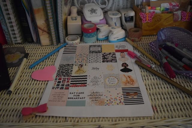 Laughing Without An Accent: KATE SPADE INSPIRED PLANNER STICKERS - FREE DOWNLOAD