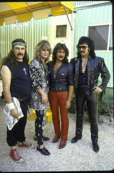 Black Sabbath Live Aid 85