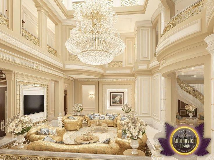 Villa design in Abu Dhabi from Luxury Antonovich Design, Katrina Antonovich