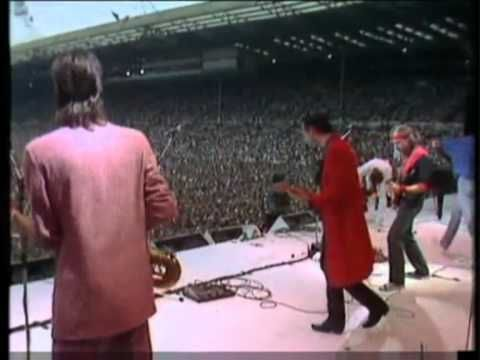 """Dire Straits - Live aid Concert 13th July1985.. I remembered , Dire Straits """"brother in arms"""" was my one of the first LP that I bought when I was 15 years old."""