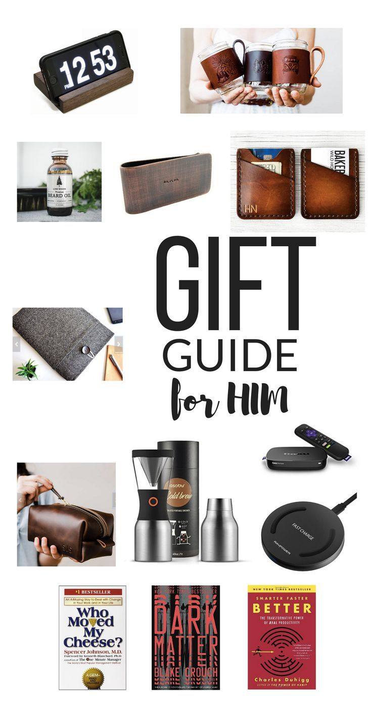 THE BEST GIFTS FOR HIM UNDER 50 BUCKS! | Christmas Favorites ...